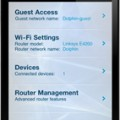La aplicación Cisco Connect Express en Iphone