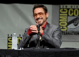 El actor Robert Downey