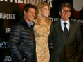 Tom Cruise, Rosamund Pike y Christopher McQuarrie
