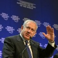 Netanyahu en el World Economic Forum. Foto cedida por fotopedia