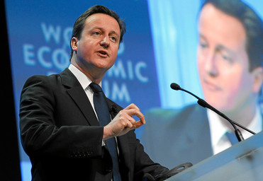 David Cameron. Foto de fotopedia y cedidas por World Economic Forum