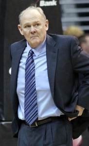 George Karl, ex entrenador del Real Madrid y 'culpable' de la magia de Denver. / Fotografía: Keith Allison
