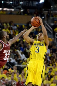 Trey Burke, de Michigan State / Fuente: 'MGoBlog (Flickr)