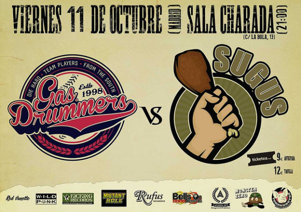 Cartel G.A.S. Drummers Vs Sugus