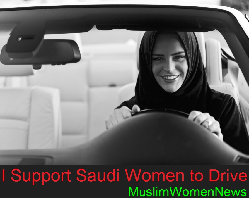 SaudiWomanToDriving