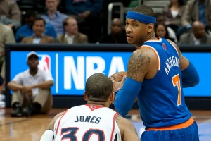 Carmelo Anthony, alero de New York Knicks