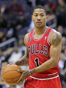 Derrick Rose. Foto: Keith Allison
