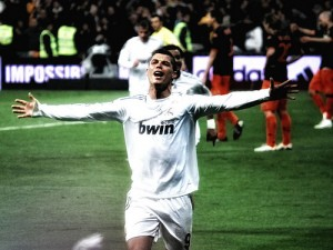 Ronaldo (28) celebrando un gol del Real Madrid. Foto: Jan SOLO (flickr)