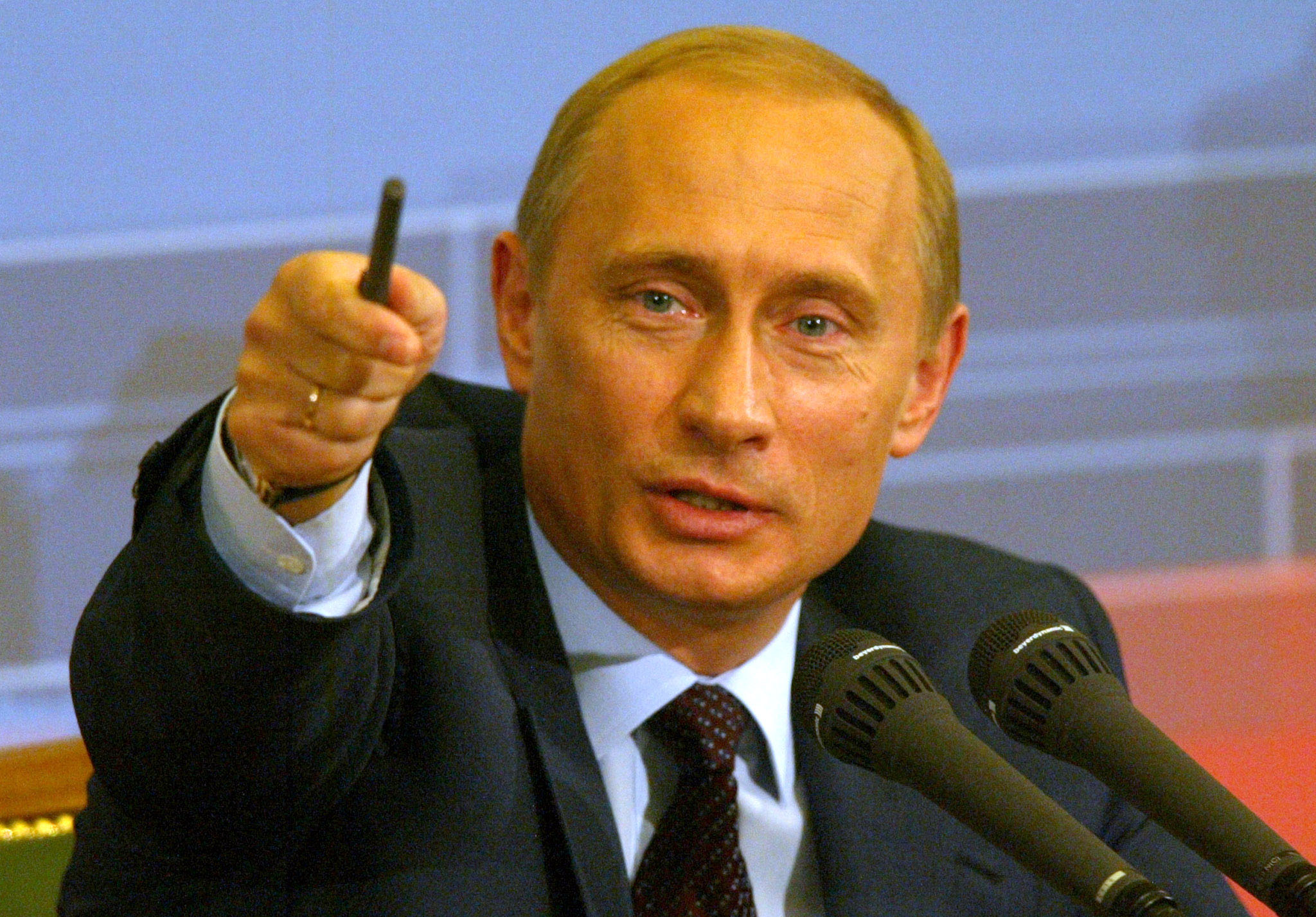 Vladimir Putin. Wikipedia. Creative Commons