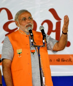 Narendra Modi. Wikipedia. Creative Commons