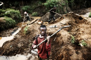 Gold Mine in Democratic Republic of Congo.