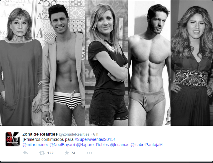 supervivientes tweeter