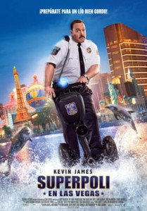 Cartel promocional con Kevin James