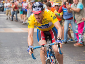 The Program Publicity Still Lance Armstrong BEN FOSTER