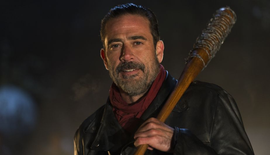Jeffrey Dean Morgan as Negan - The Walking Dead _ Season 6, Episode 16 - Photo Credit: Gene Page/AMC